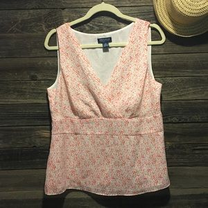 Anne Taylor sleeveless top size 14